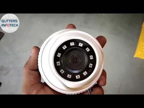 Hikvision Indoor Dome Camera 2MP with Video Recording/Footage | 1080P Full HD Night Vision