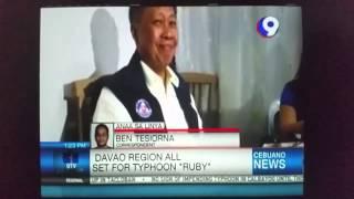 davao region set for typhoon ruby