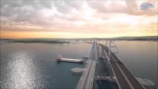 Крымский мост- Новое видео от дизайнеров.(Дизайнеры опубликовали видео, каким будет Керченский мост. Дизайнеры изобразили Керченский мост в 3D-модели..., 2016-03-25T07:01:48.000Z)