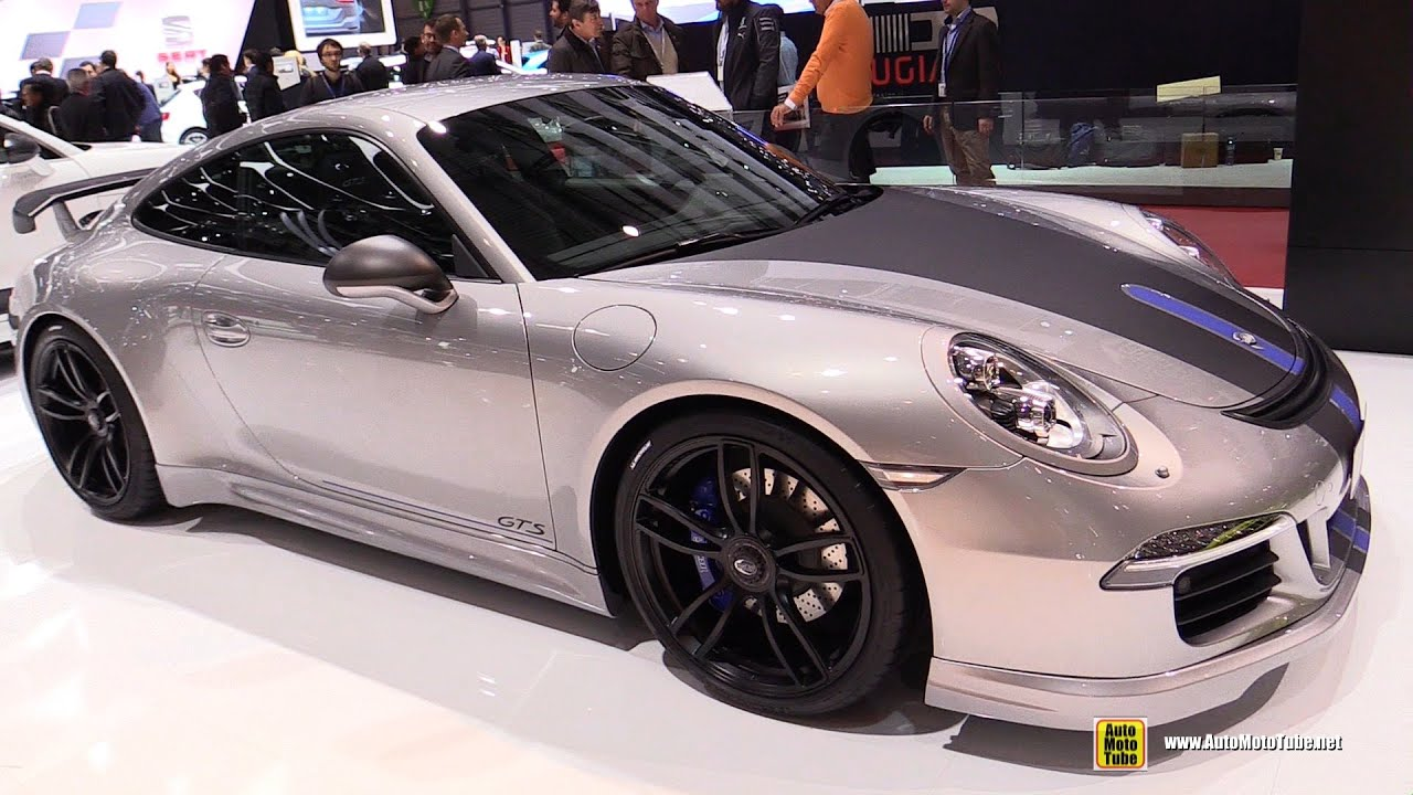 porsche carrera 4gts 2015 video