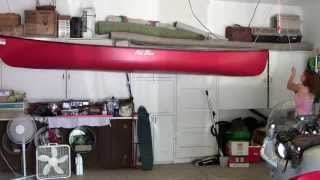 How To Hang A Canoe From The Ceiling