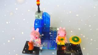 PEPPA PIG BUILDING BLOCKS TOYS - PEPPA PIG BUILDING BLOCKS TOYSET