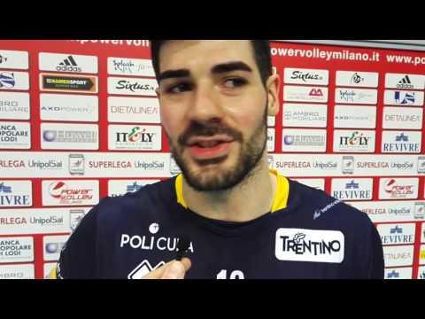 Filippo Lanza post Milano - Trento 5 febbraio 2017