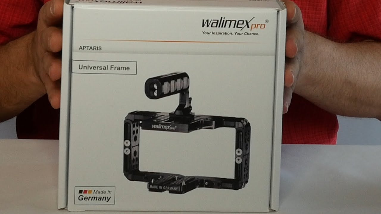 Walimex Aptaris Custom Cage AND New Universal Frame Cage - YouTube