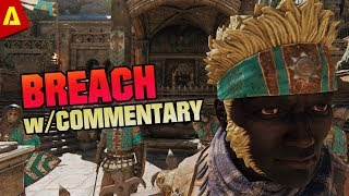 For Honor: Full Breach Game with Commentary | Marching Fire