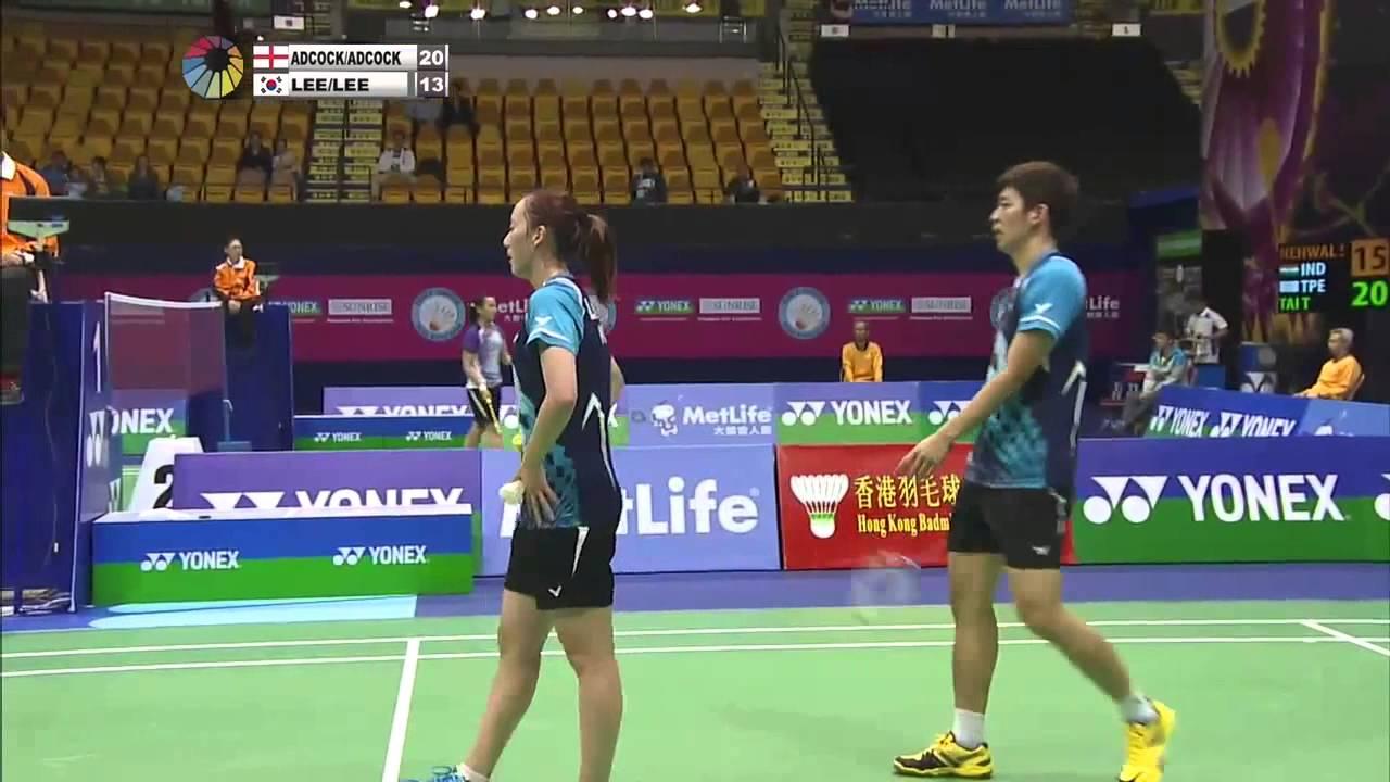 QF 2014 Hong Kong Open Chris Adcock Gabrielle Adcock vs Lee