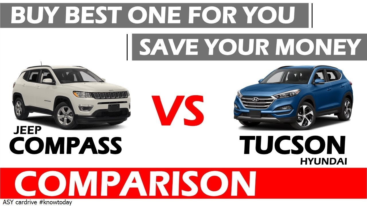 Hyundai Tucson Vs Jeep Compass Best Suv Under 25 Lakhs In India