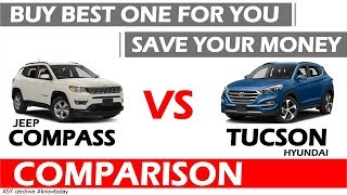 HYUNDAI TUCSON VS JEEP COMPASS |BEST SUV UNDER 25 LAKHS IN IND…