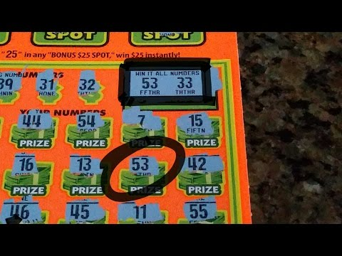 Matching The Win It All Number!!! - $5 CA Lottery Scratcher!