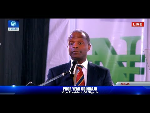 VP Osinbajo Addresses African Tax Administration Forum