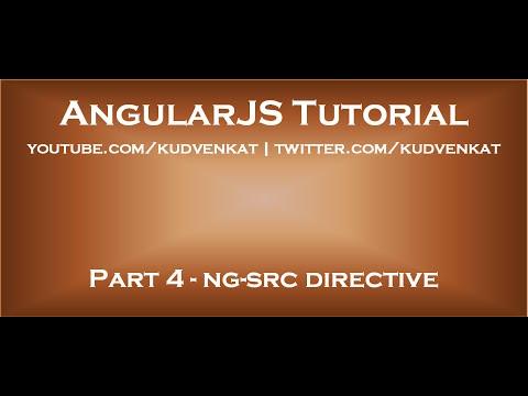 AngularJS Ng Src Directive