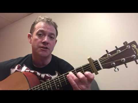Talladega Eric Church Guitar Lesson Youtube