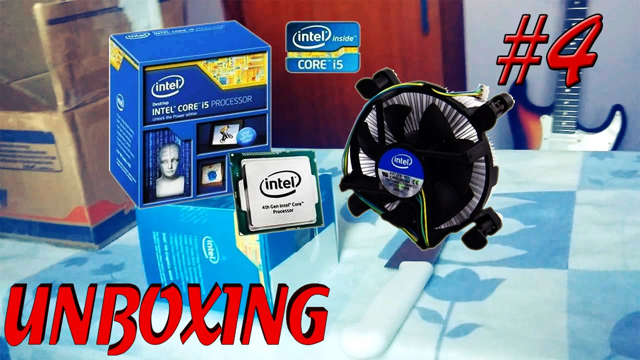 Unboxing 4 Processador Intel Core I5 4460 32ghz 6mb Lga 1150 Processor 6600k 35 Box Socket 1151 Memria Ram Corsair 4gb