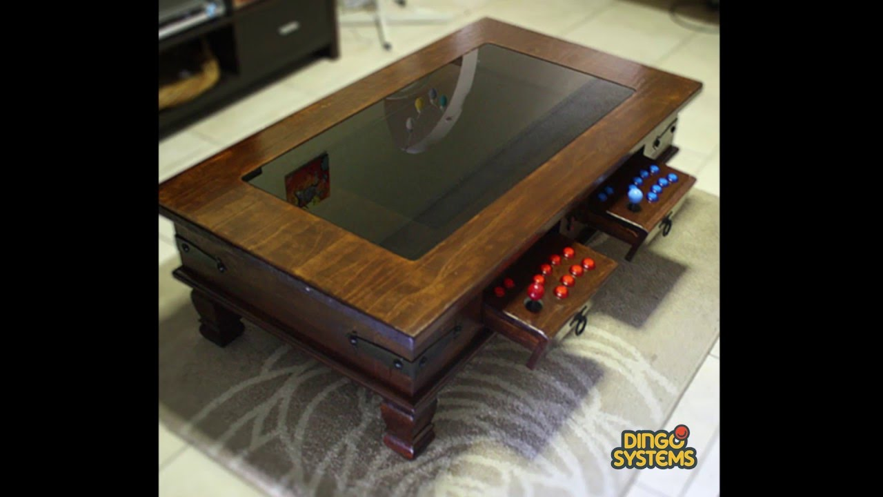 Street Fighter II - Gameboy - Arcade Coffee Table - YouTube
