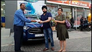 Taking Delivery of 2019 Ford Ecosport Titanium AT | Documentation to Delivery Walkthrough 4K 60FPS