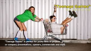 "Commercial Background Instrumental Indie-Rock Music - ""Teenage Games"" by Twisterium - AudioJungle"