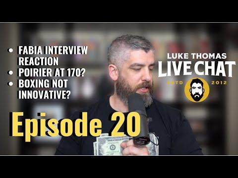 Joshua Fabia Reaction, Wilder-Fury 2 & UFC Auckland Preview   Live Chat, Ep. 20   Luke Thomas