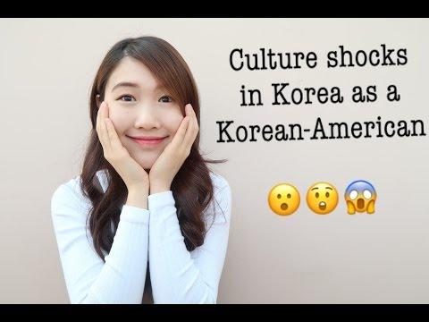 Culture shocks of Korea as a Korean-American