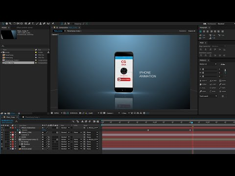 After Effects Tutorial: iPhone Animation in After Effects an