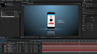After Effects Tutorial: iPhone Animation in After Effects and Element 3d