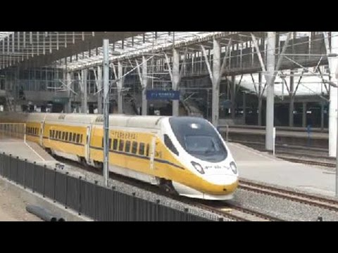 Inner Mongolia's first high-speed railway: Hohhot-Zhangjiakou line undergoes testing