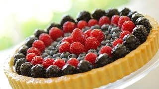 Beth's Red, White And Blue Fruit Tart Recipe