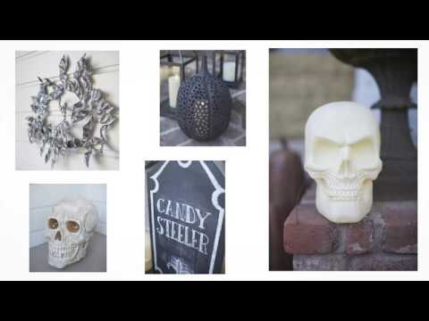 Create the Perfect Halloween Front Porch
