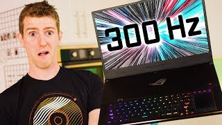 World's First 300Hz GAMING Display