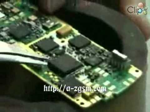 Tháo IC đổ keo ra khỏi main.flv