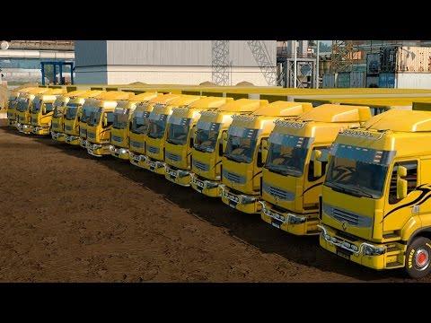 Hard Parking n Short Delivery euro truck simulator 2 Version