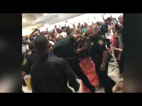 Spirit flight cancellations lead to chaos at Fort Lauderdale airport