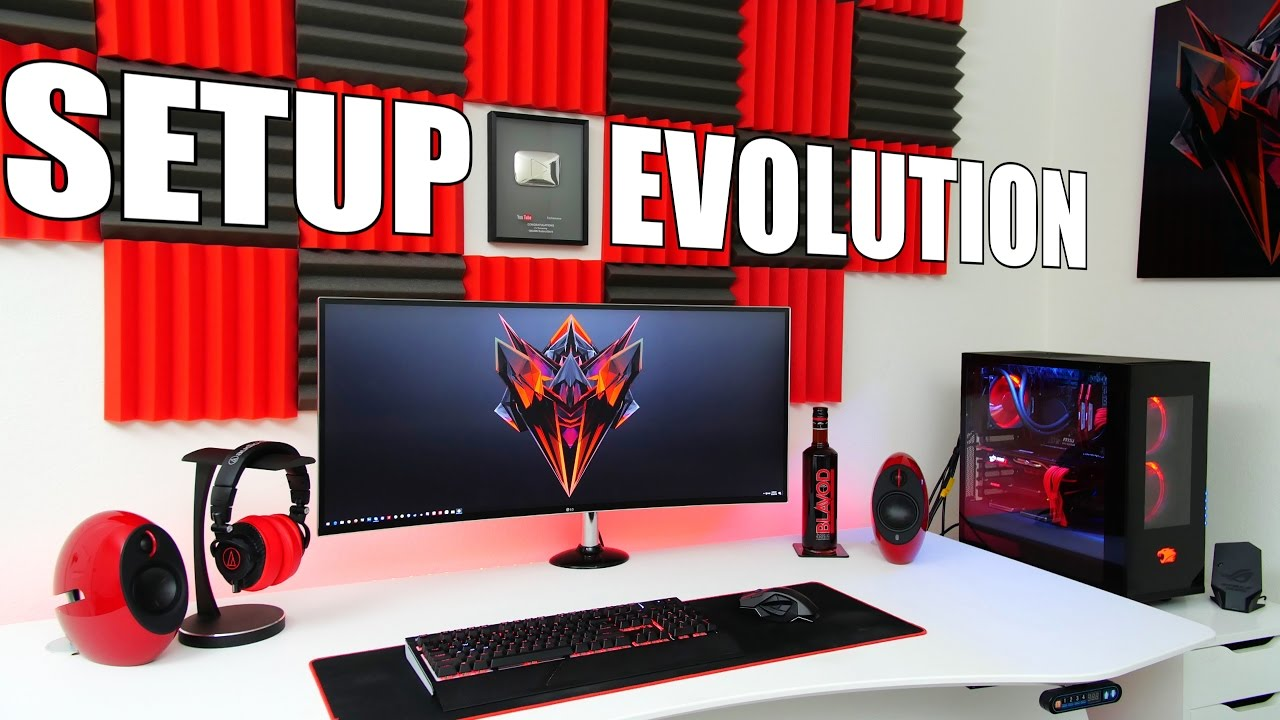 My Desk Setup Evolution Episode 1 Youtube
