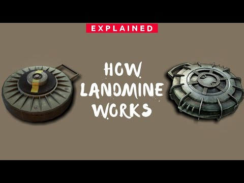 How Landmine Works? Anti-Personnel Mines & Anti-Tank Mines | Types Of Landmines - Explained (Hindi)