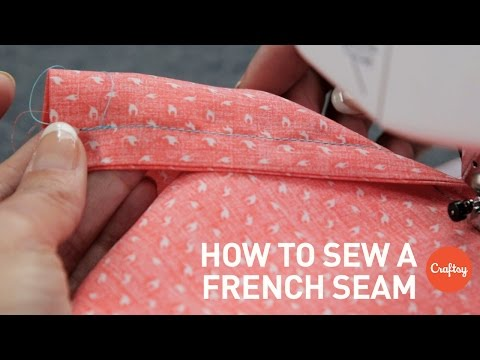 How To Sew A French Seam Step-by-step | Sewing Tutorial With Angela Wolf