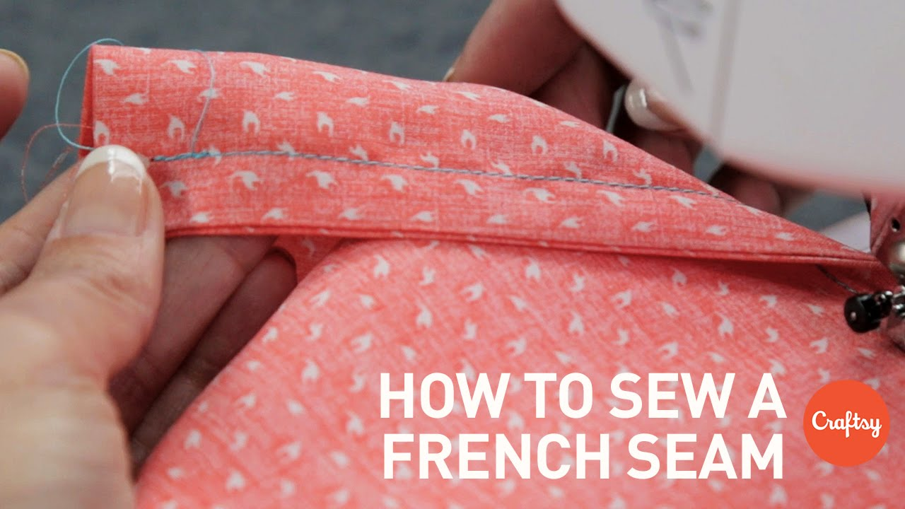 How to sew a french seam step-by-step | Sewing Tutorial with Angela Wolf - YouTube & How to sew a french seam step-by-step | Sewing Tutorial with ... pillowsntoast.com