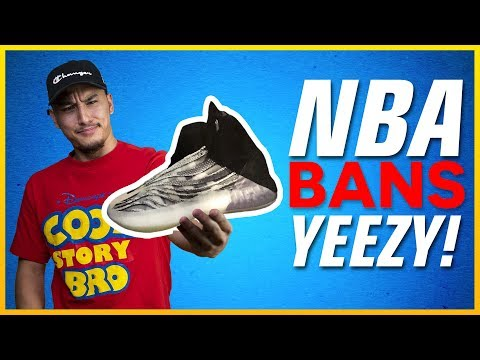 Why the NBA Banned Kanye West's YEEZY