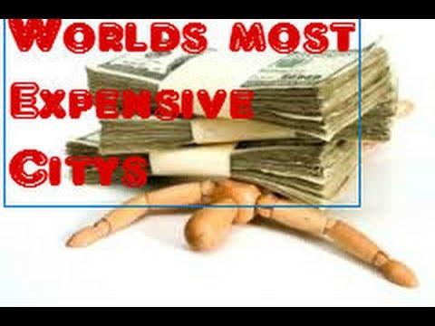 Top ten most expensive cities