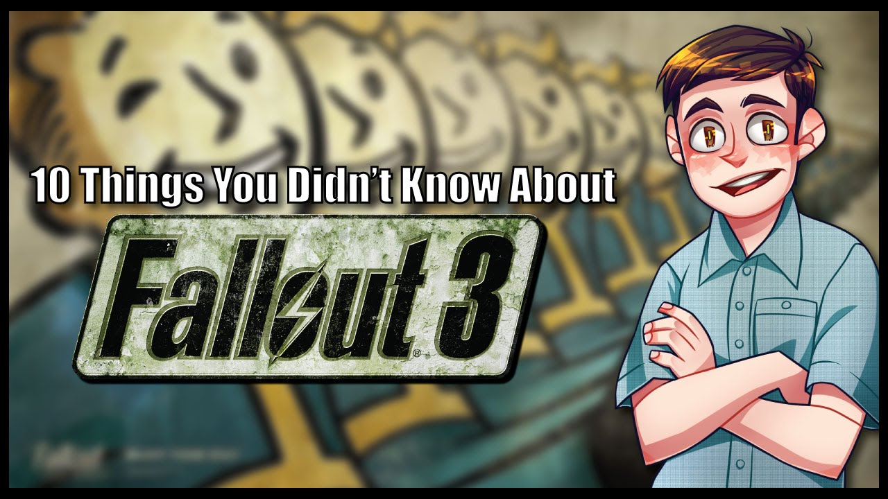 10 Things You Didn't Know About Fallout 3 - YouTube