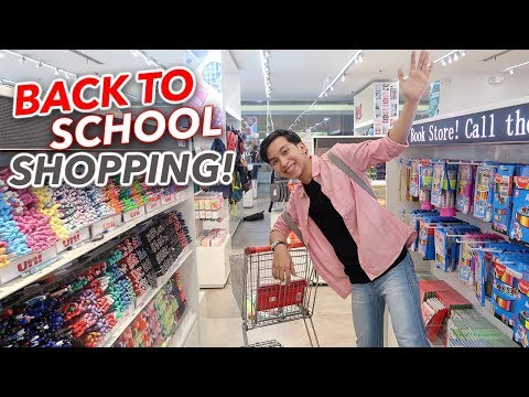 Back To School Supplies Shopping 2019! ft. NBS (Philippines)
