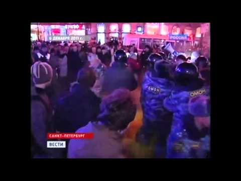Youtube Facebook & Twitter : Russia protests : voa video news