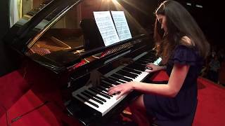 Clara Popescu - Can you read my mind (Superman Theme) by John Williams