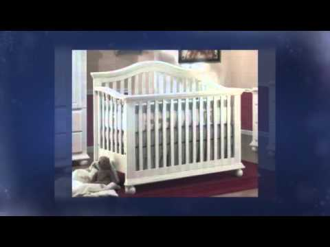 Sorelle Vista Convertible Crib With Toddler Rail France Whi Youtube