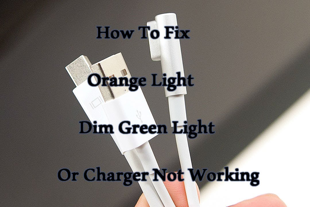 How To Fix Apple Mac Magsafe Charge Simple Dim Green
