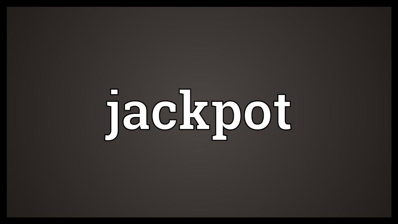 wie schreibt man jackpot