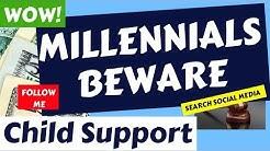 MILLENNIALS Beware of Child Support (Student Loan Trap)