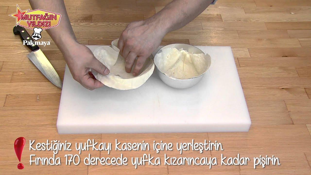 Çıtır Yufkalı Salata Yapılışı Videosu