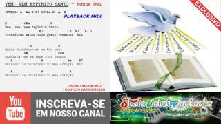 Baixar VEM ESPÍRITO SANTO - PLAYBACK MIDI - Agnus Dei