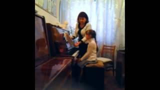 Урок з фортепіано, викладач Гончарова Марина Іванівна, 20. 11. 13 р.