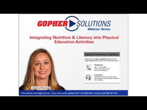 Integrating Nutrition & Literacy into Physical Education Activities | Gopher Sport