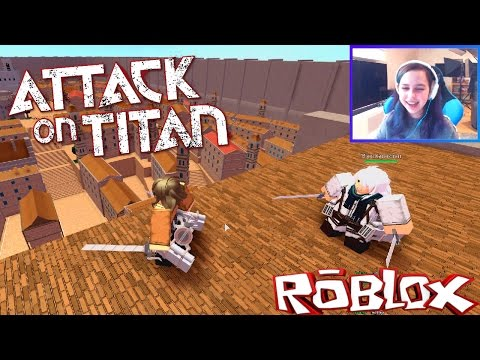 Roblox Let S Play Attack On Titan Radiojh Games Microguardian